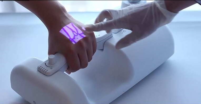 vein finder detects subcutaneous veins   adl data systems